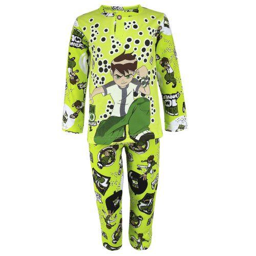 Пижама с начесом для мальчиков 2-6 лет BB0303