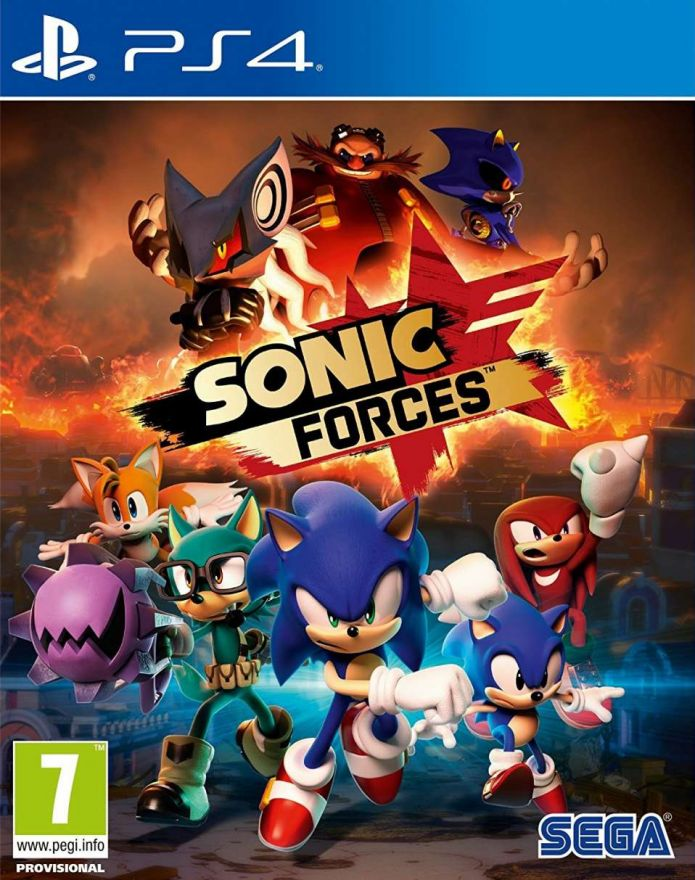 Игра Sonic Forces (PS4)