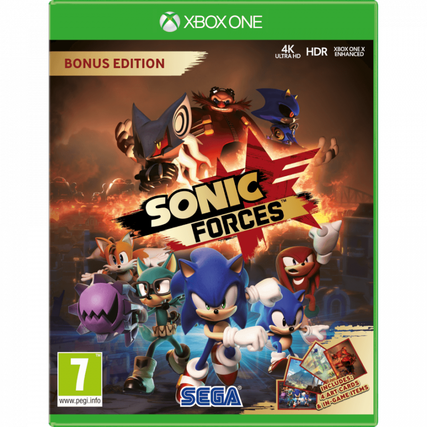 Игра Sonic Forces (Xbox One)