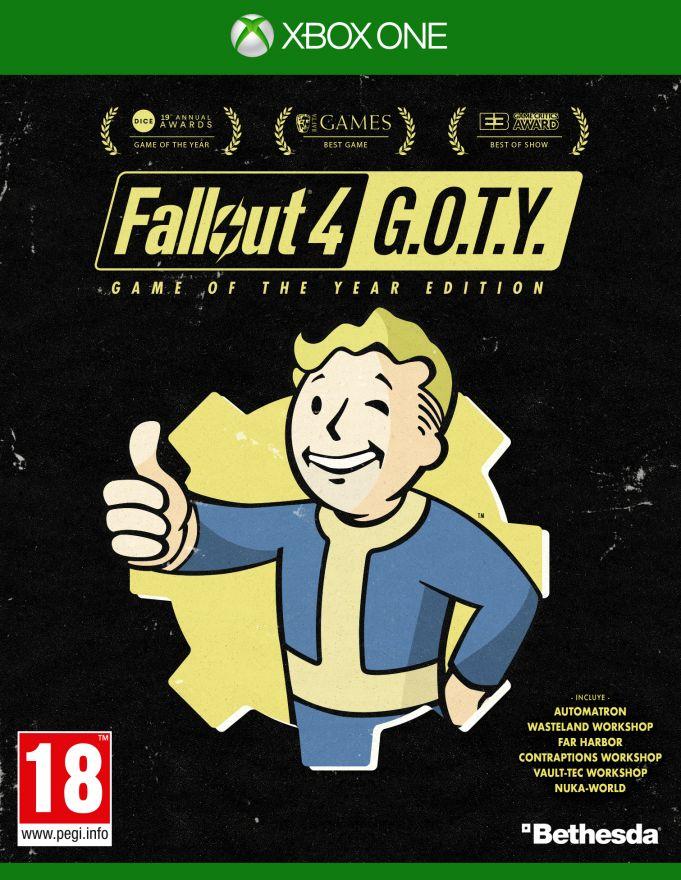 Игра Fallout 4 Goty (Xbox One)
