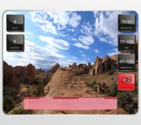 Виртуальный ландшафт™ - технология синхронизации тренажера и специально снятых видео роликов