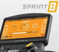 SPRINT 8 - научно-разработанная программа для высокоинтенсивных интервальных кардио тренировок (ВИИТ)Элемент пользовательского программного интерфейса