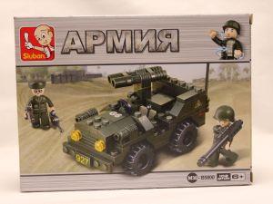 Конструктор блочный Армия 102 дет
