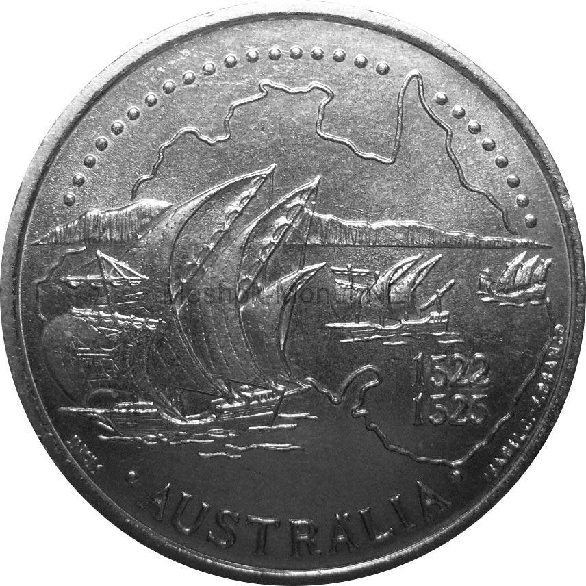 Португалия 200 эскудо 1995 г. Золотой век открытий - Австралия.