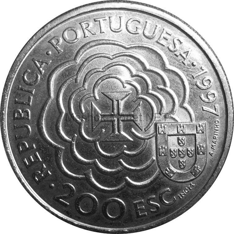 Португалия 200 эскудо 1997 г.