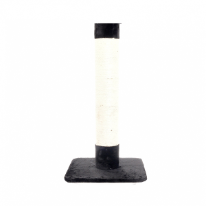 Когтеточка-столбик Papillon Сиерра черная для кошек 50х50х100см