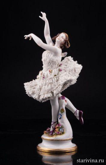 Изображение Анна Павлова в балете Бабочка, Volkstedt, Германия, до 1935 г