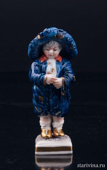 Изображение Малыш в широкополой шляпе, миниатюра, Volkstedt, Германия, вт. пол. 20 в