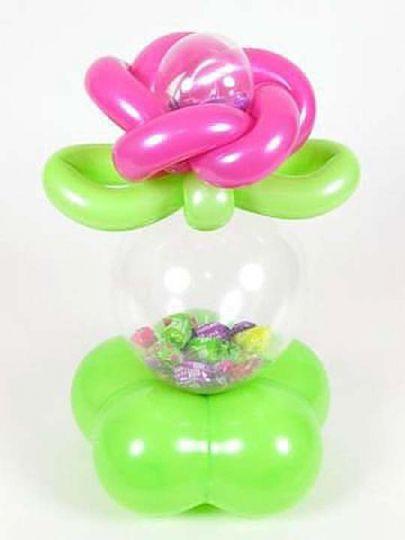 Подарок с конфетами