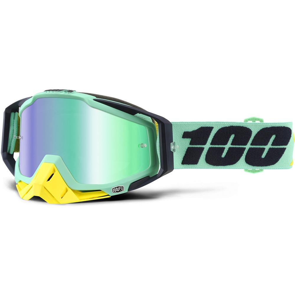 100% - Racecraft Kloog очки, линза зеленая зеркальная