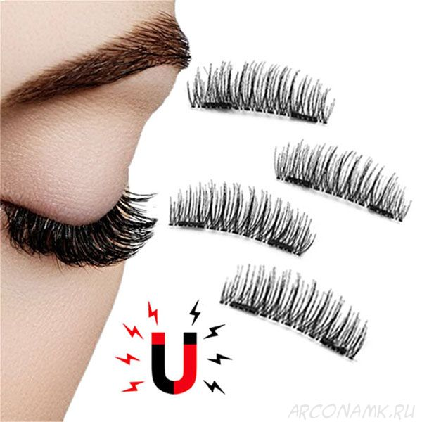 Магнитные накладные ресницы Newshow 3D Mink Hair Lashes
