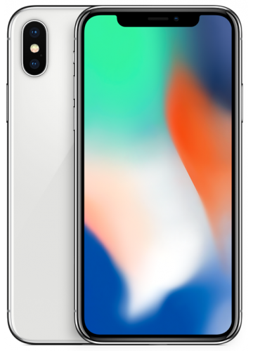 Apple iPhone X 64GB Silver  A1901