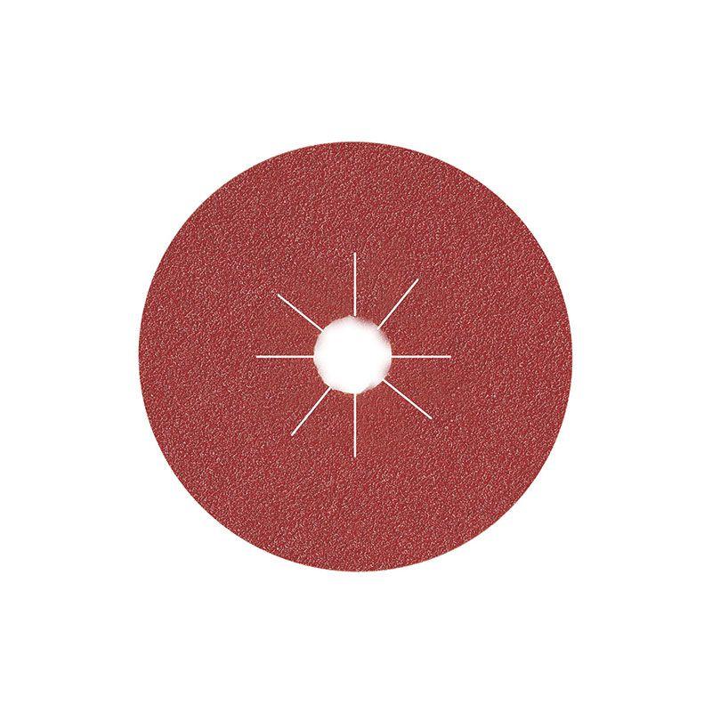 Smirdex Диск фибровый шлифовальный Fiber Discs Alox D 125мм, Р120, (упаковка 25 шт.)