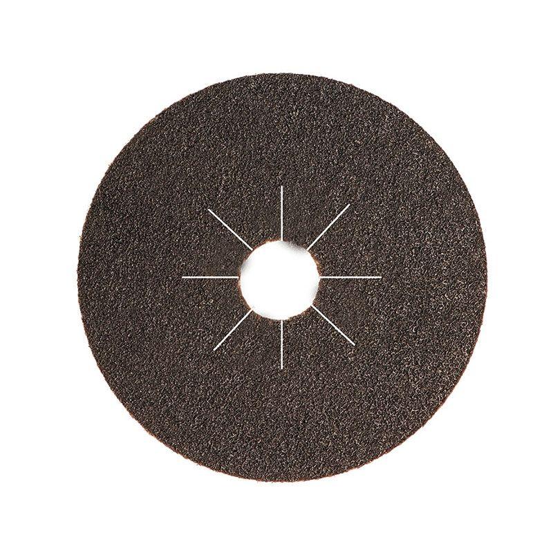 Smirdex Диск фибровый шлифовальный Fiber Discs Sic D 125мм Р100, (упаковка 25 шт.)