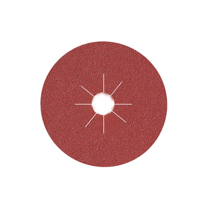Smirdex Диск фибровый шлифовальный Fiber Discs Alox D 125мм, Р40, (упаковка 25 шт.)