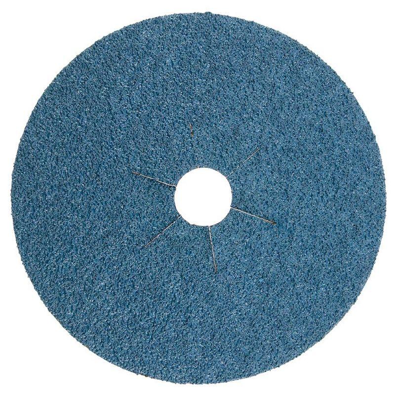 Smirdex Диск фибровый шлифовальный Fiber Discs Zirconia D 125мм, Р80