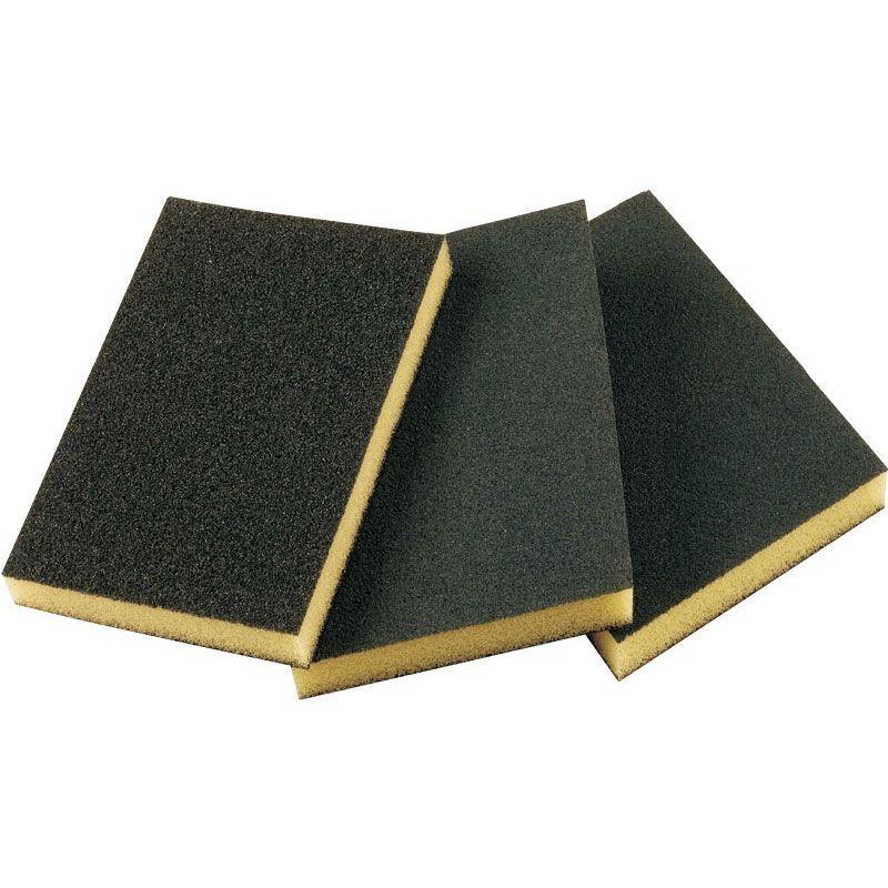 Smirdex Абразивная губка SMIRDEX 920, 2х2, Medium, 120мм x 90мм x 10мм, (упаковка 250 шт.)