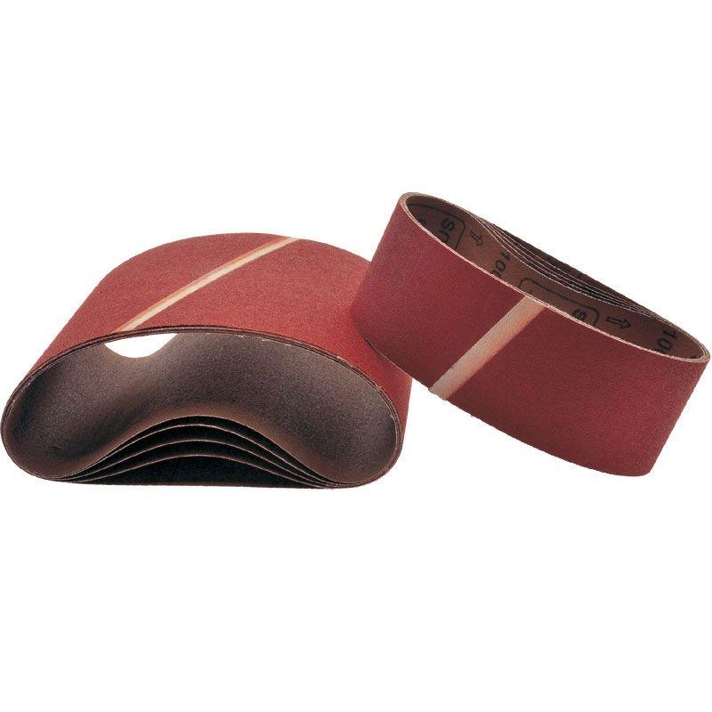 Smirdex Р220 Лента шлифовальная бесконечная Cloth 630, 75мм. x 457мм., (упаковка 5 шт.)