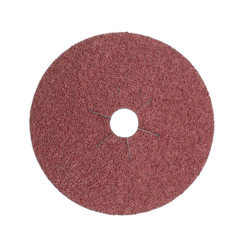Smirdex Диск фибровый шлифовальный Fiber Discs Ceramic D 150мм, Р80