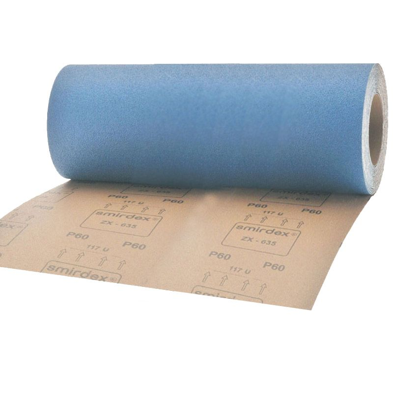 Smirdex Р150 Абразивная ткань в рулонах SMIRDEX 635 Cloth-ZX, 116мм x 25м, (упаковка 1 шт.)