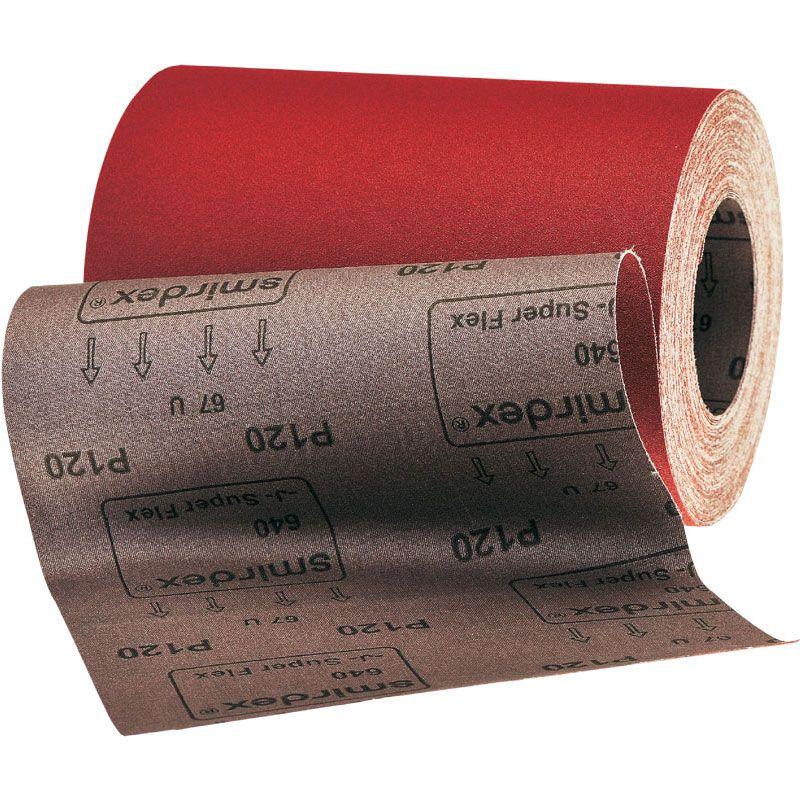 Smirdex Р150 Абразивная ткань в рулонах SMIRDEX 650 J Cloth, 700мм. x 50м., (упаковка 1 шт.)