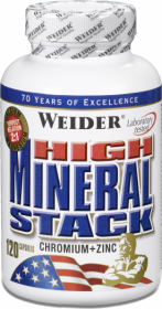 Weider High Mineral Stack (120 капс.)