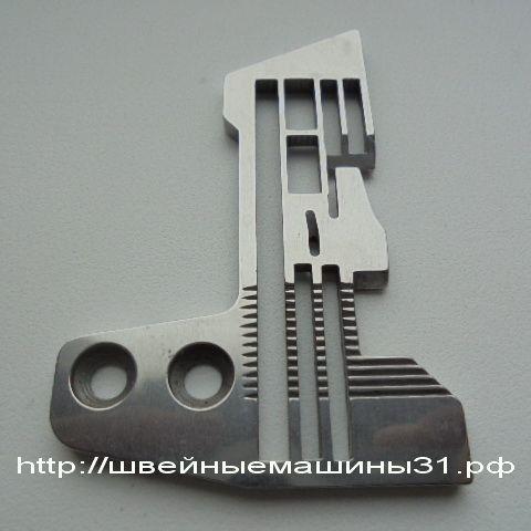 Игольная пластина для пром. оверлока маркировка Е982    цена 1000 руб.