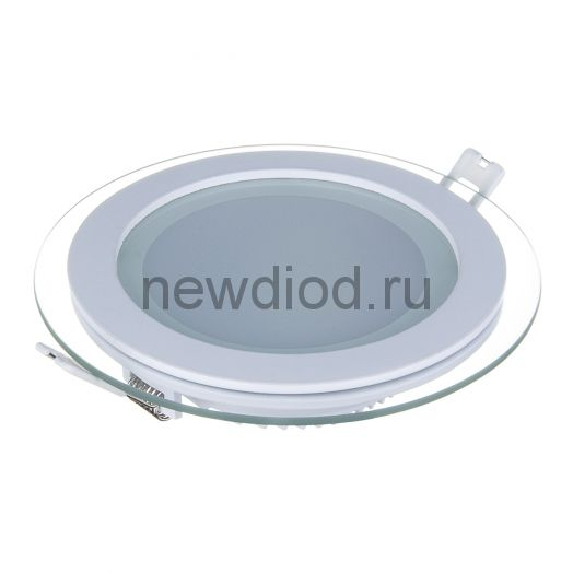 Светильник встраиваемый OREOL Glass Rlp 12W-960Lm 125/160mm 6000K