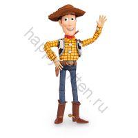 Ковбой Вуди говорящий с кольцом на спине Disney