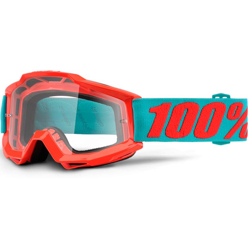100% - Accuri JR Passion Orange очки подростковые, прозрачная линза