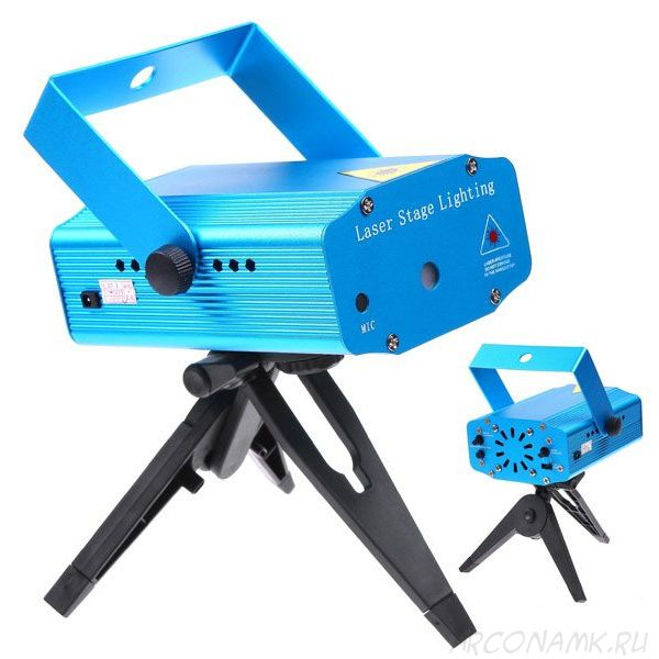 Лазерный мини-проектор Mini Laser Stage Laser Lighting