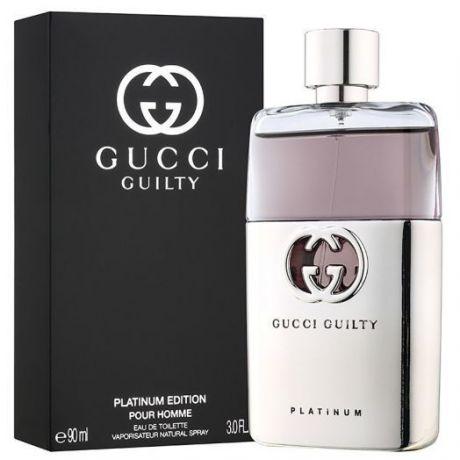 """Туалетная вода Gucci """"Guilty Pour Homme Platinum"""", 90 ml"""