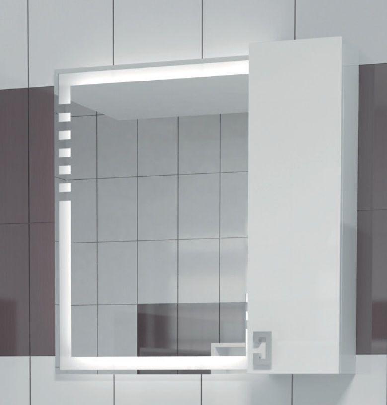 Навесной шкаф-зеркало Acqusto 600 (Аквисто) 60х70 ФОТО
