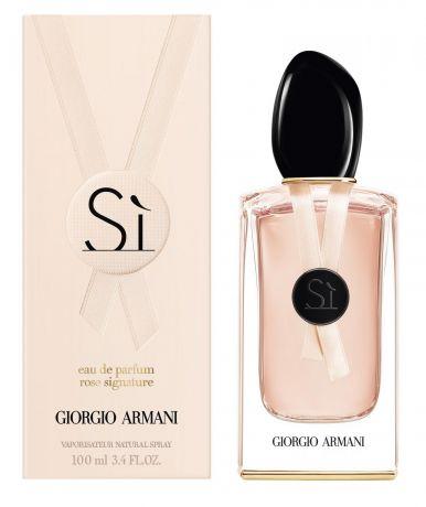 "Парфюмерная вода Giorgio Armani ""Si Rose Signature II"", 100 ml"