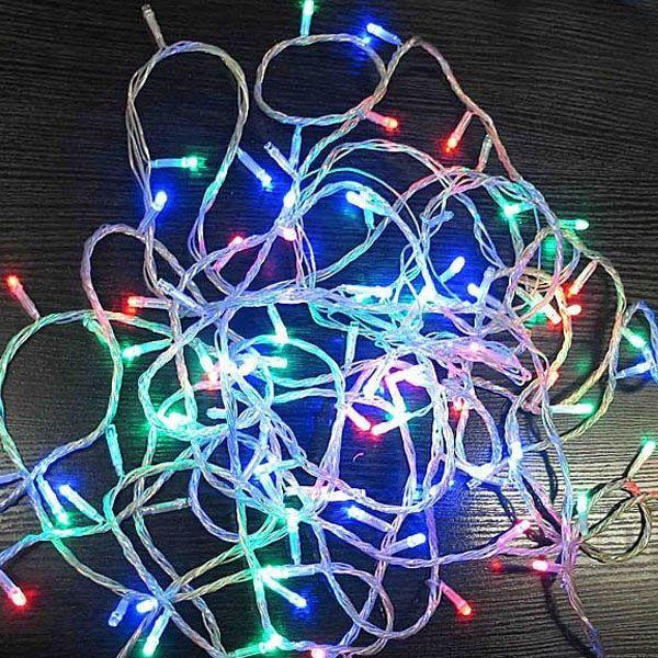 Новогодняя светодиодная гирлянда 140 LED лампочек 8 м