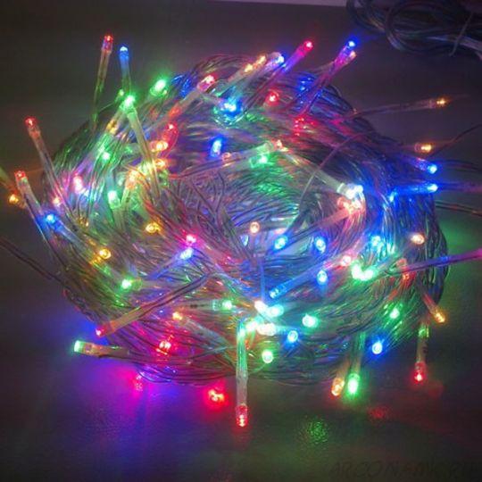 Новогодняя светодиодная гирлянда 200 LED лампочек