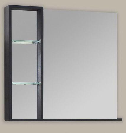 Зеркало с полкой Balzo 750 (Бальзо) 75х70 ФОТО