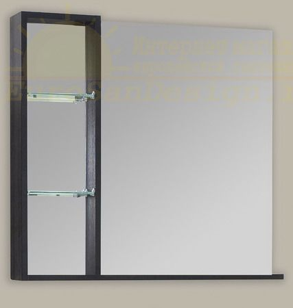 Зеркало с полкой Balzo 650 (Бальзо) 65х70 ФОТО