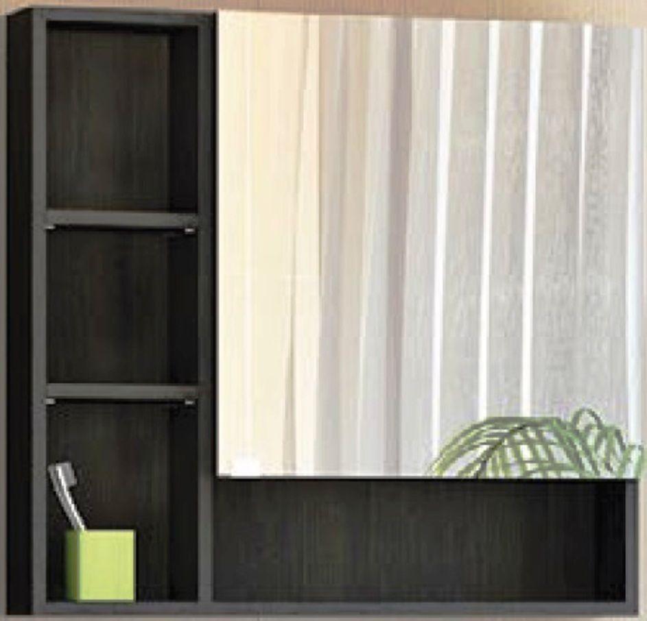 Навесной шкаф-зеркало Balzo 750 (Бальзо) 75х70 ФОТО