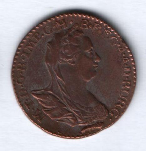 2 лиарда 1780 г. Австрийские Нидерланды, AUNC