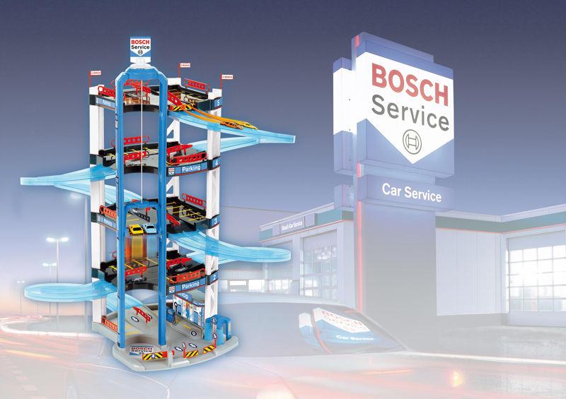 Парковка гараж 5 этажей bosch service klein 2813