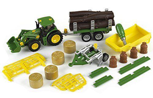 Трактор строительный john deere klein 3907