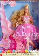 Коллекционная кукла Барби Балерина Фея Драже из Щелкунчика (с музыкальной подставкой) - Barbie Doll as the Sugar Plum Fairy