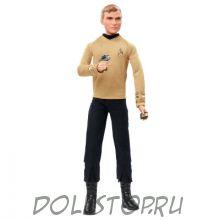 Коллекционная кукла Барби Капитан Кирк  Стар Трек - Barbie Star Trek 50th Anniversary Captain Kirk Doll