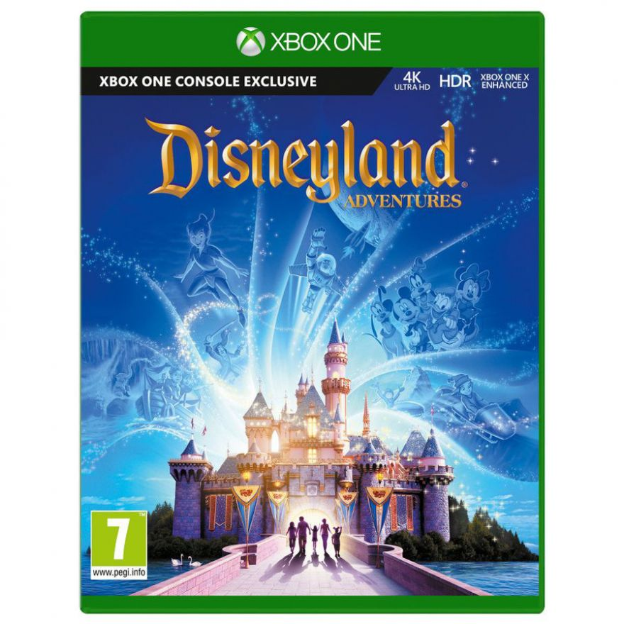Игра Disneyland Adventures (Xbox One, русская версия)