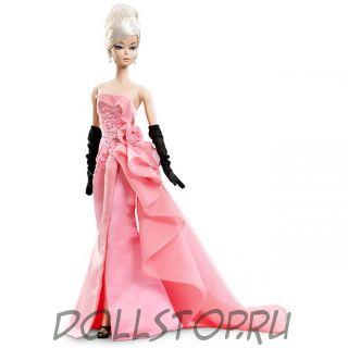 Коллекционная кукла Барби Гламурный наряд - Glam Gown Barbie Doll, Silkstone, DGW58