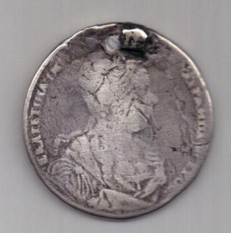 1 рубль 1727 г. Екатерина l