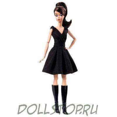 78a946030741167 Коллекционная кукла Барби Классическое черное платье Брюнетка - Classic  Black Dress Barbie Doll (Brunette)