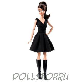 Коллекционная кукла Барби Классическое черное платье  Брюнетка - Classic Black Dress Barbie Doll (Brunette)