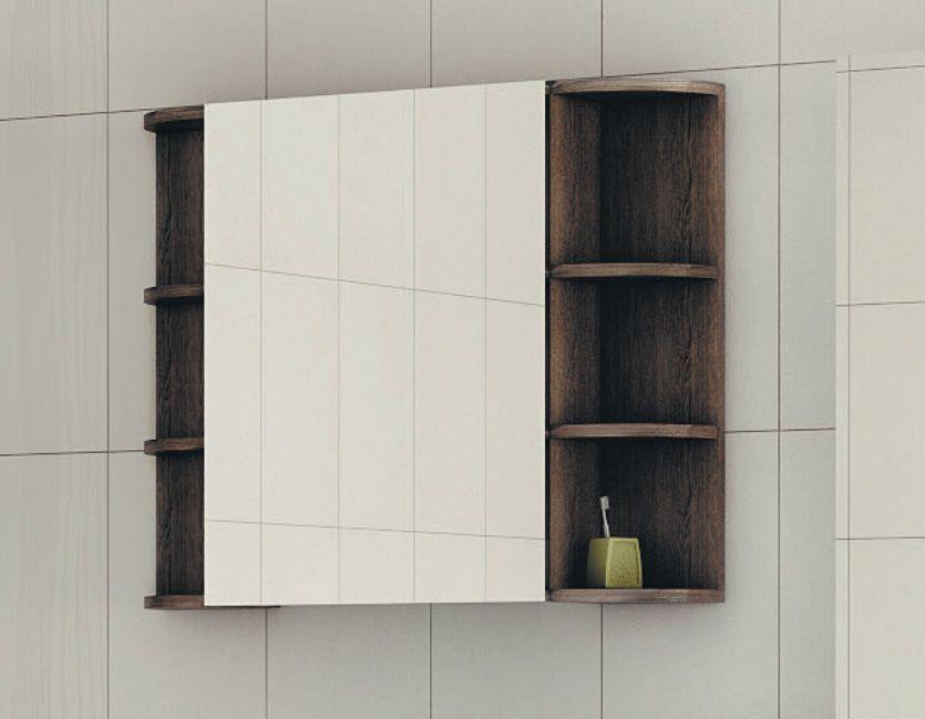 Навесной шкаф-зеркало Festa 850 (Феста) 85х65 ФОТО